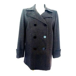 New York and Company Wool Pea Coat size 14